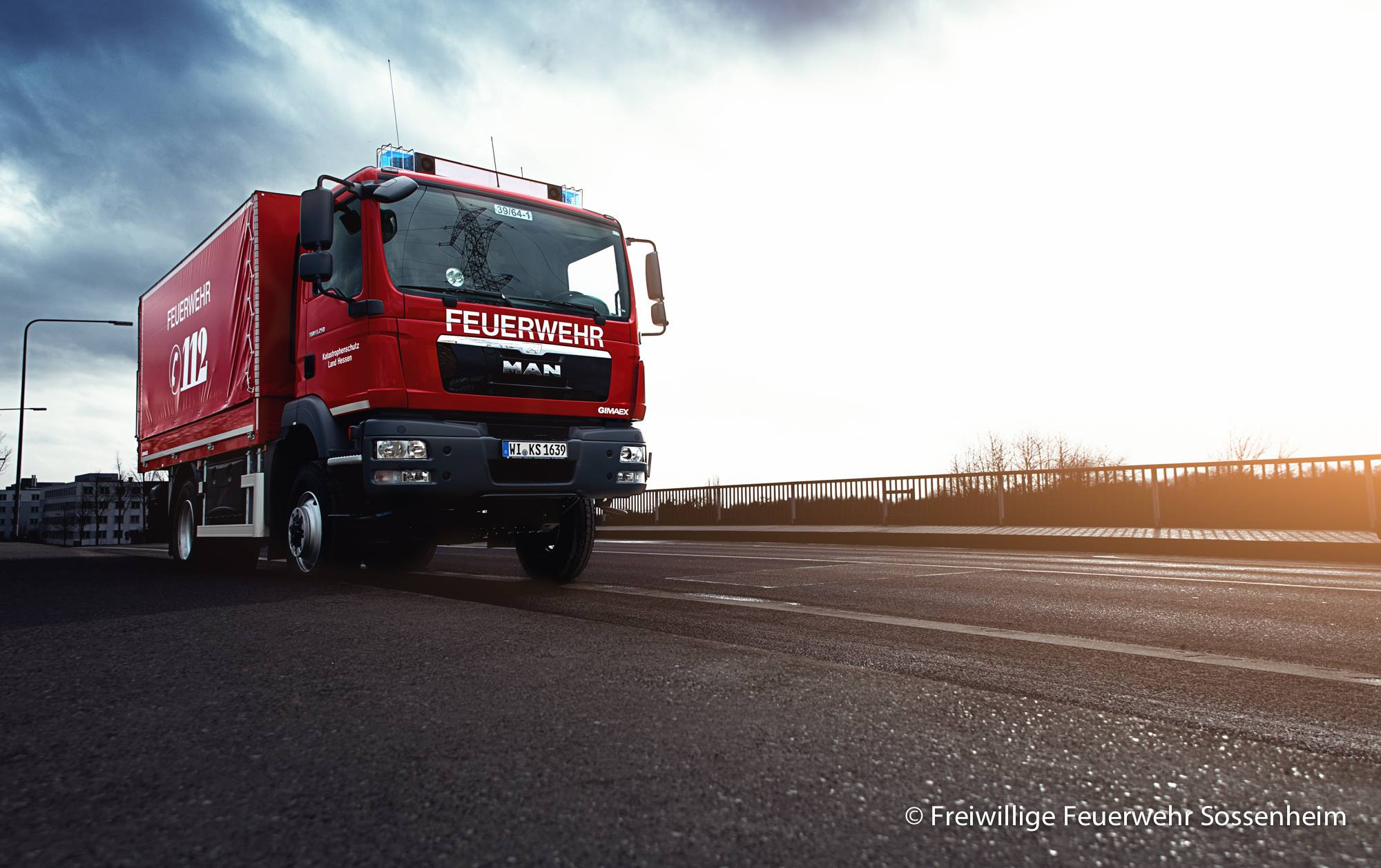 Gerätewagen - Logistik 1 (Hochwasserschutz)